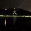 浜松市館山寺町大草山を遠隔ライトアップ